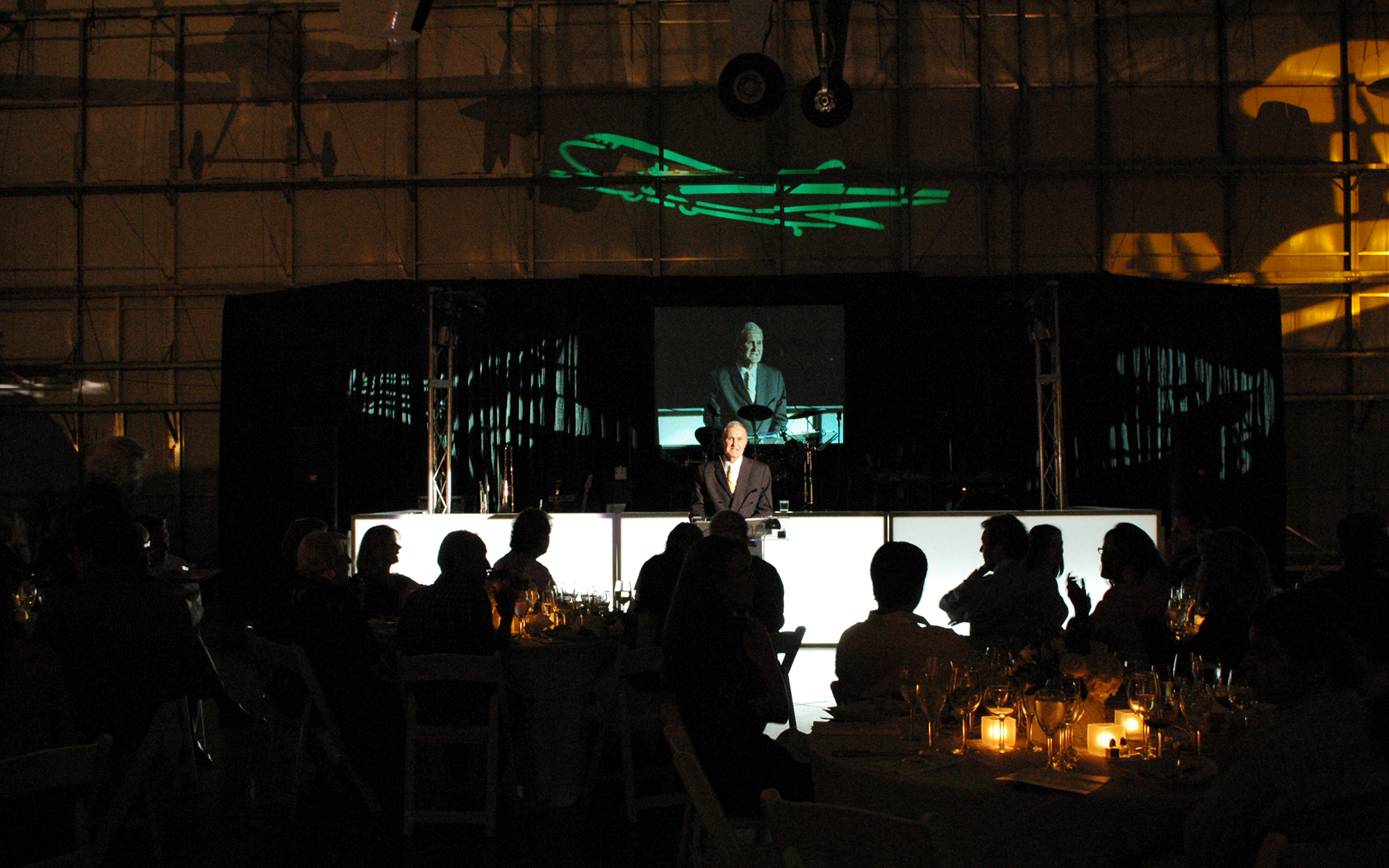 Projection Screen and Audio Services