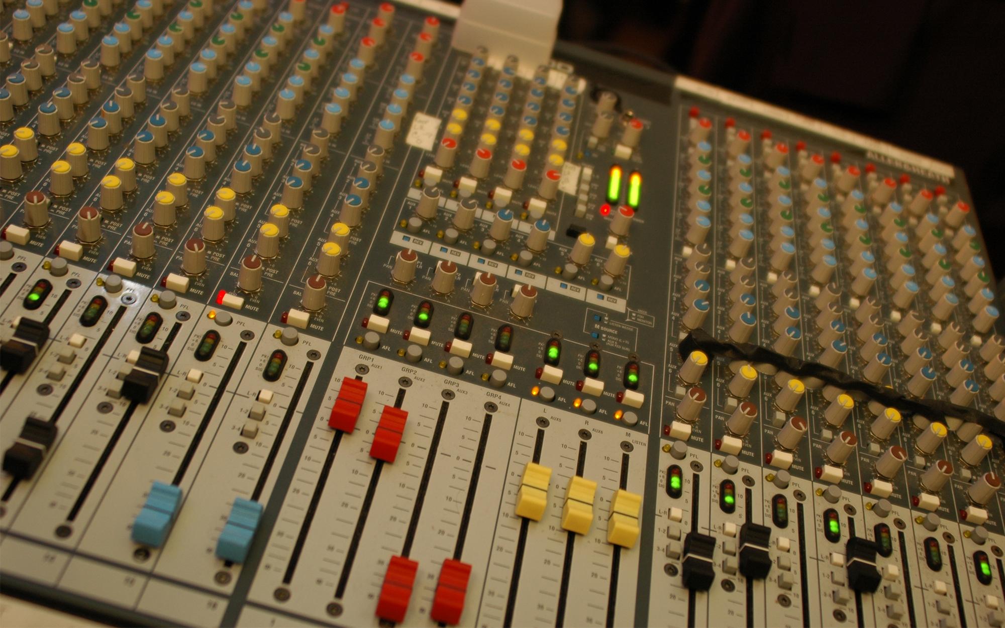 Sound Reinforcement Services