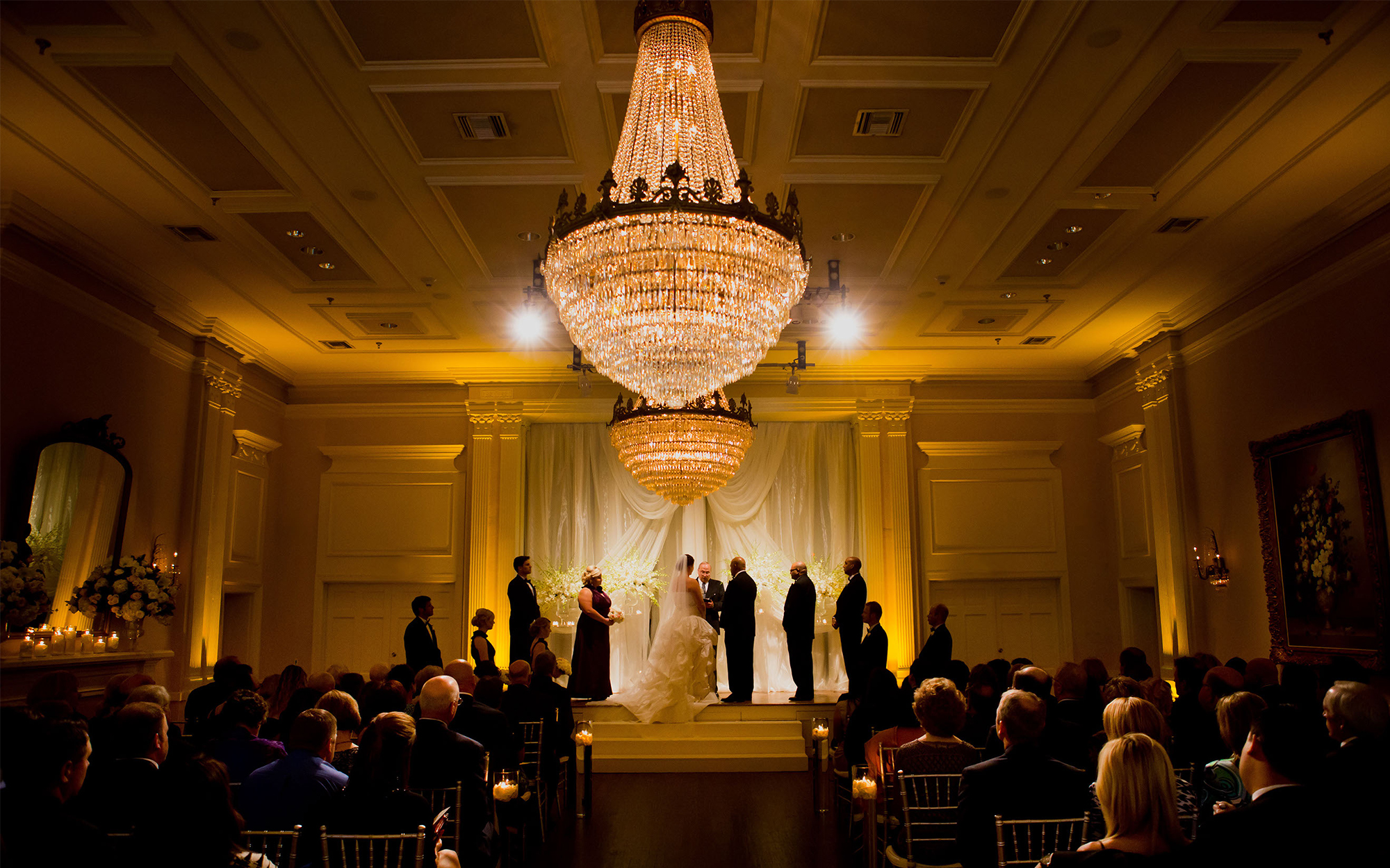 Ceremony Lighting at Arlington Hall