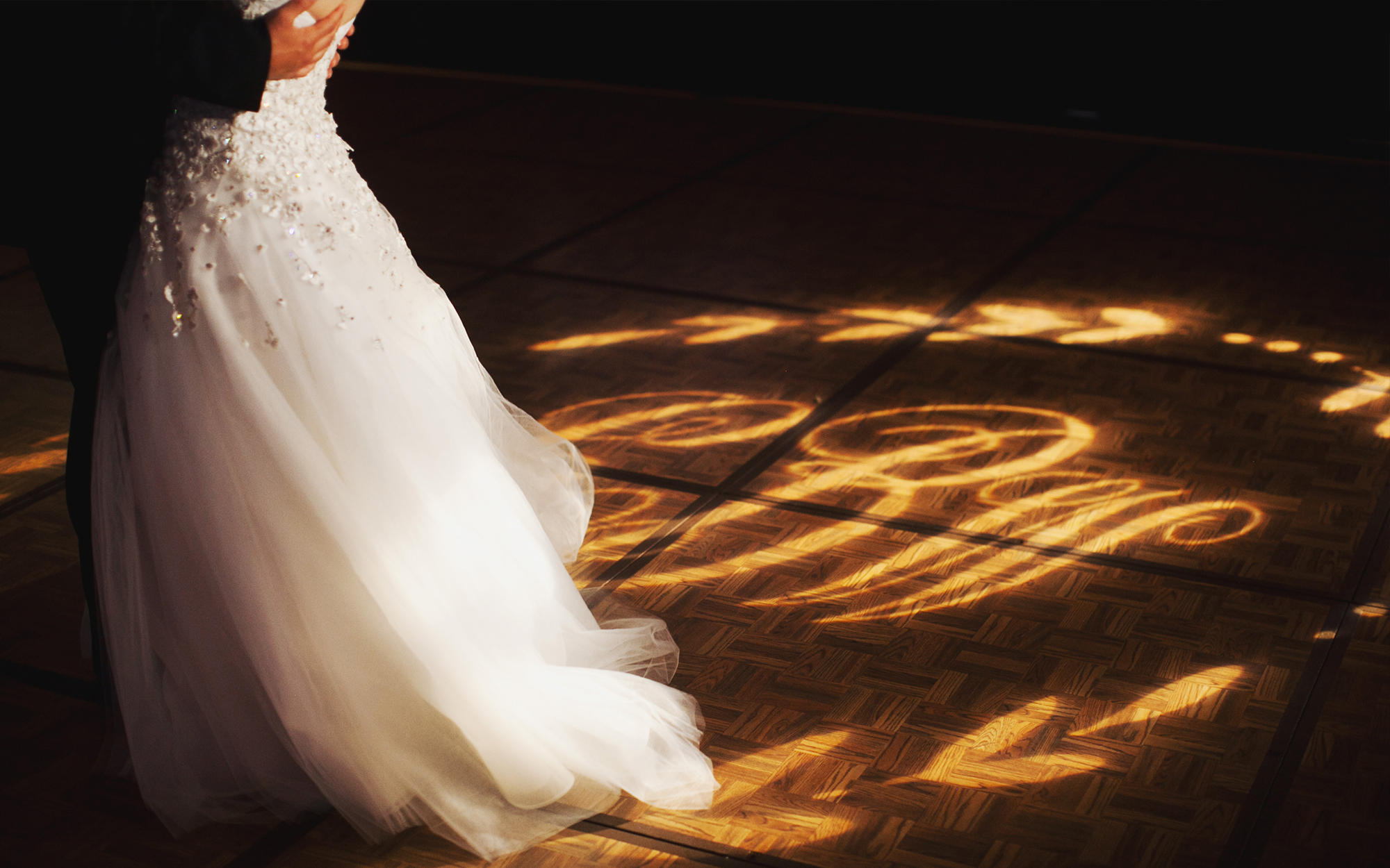 Dance Floor Monogram Gobo